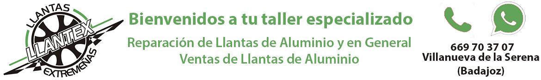 Llantex. Reparación Llantas | Venta Llantas de Aluminio